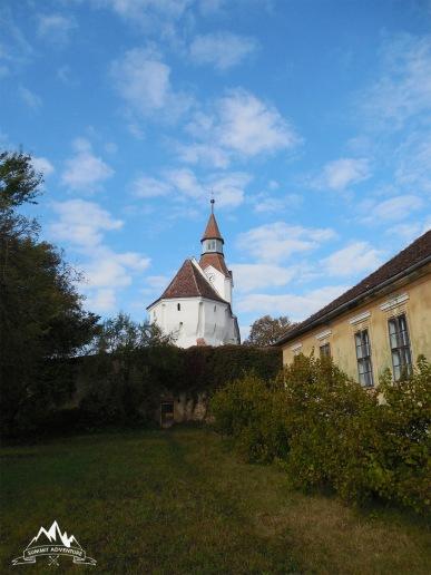 biserica fortificata Bunesti