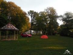 dimineata in camping