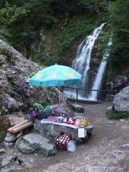 umbreluta de la cascada