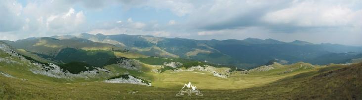 panorama spre Valea Ialomitei
