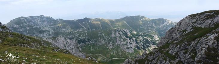 panorama de pe Bucsoiu