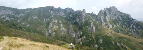 Peisaj spre Culmea Bratocea-Ciucas