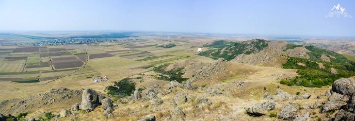 panorama spre Macin