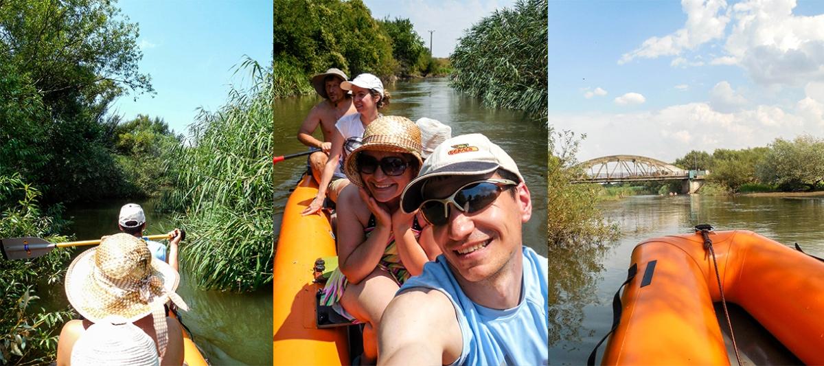 Cu barca pe Bega - o tură pe apă