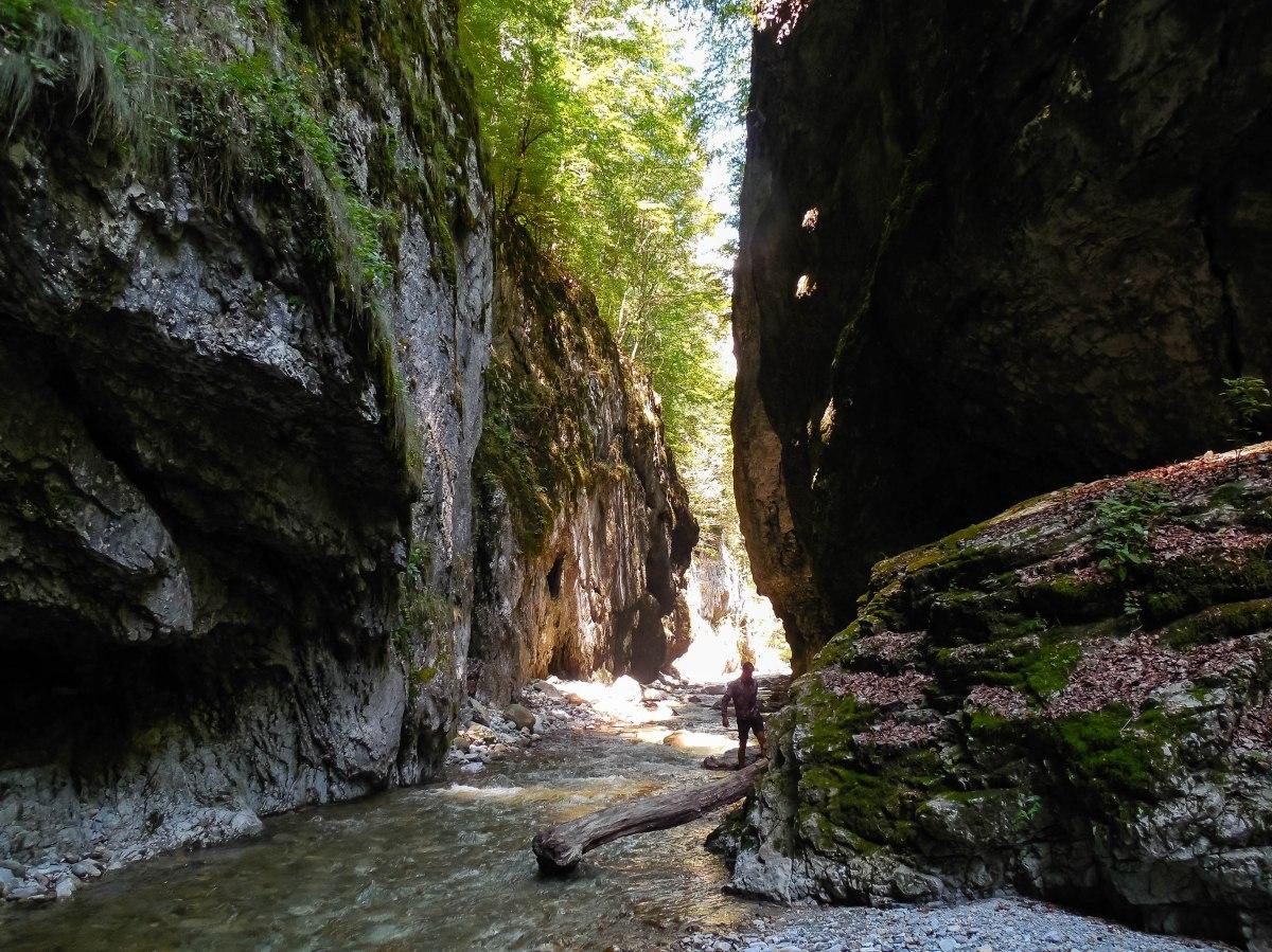 Peștera Polovragi și aventura prin Cheile Oltețului