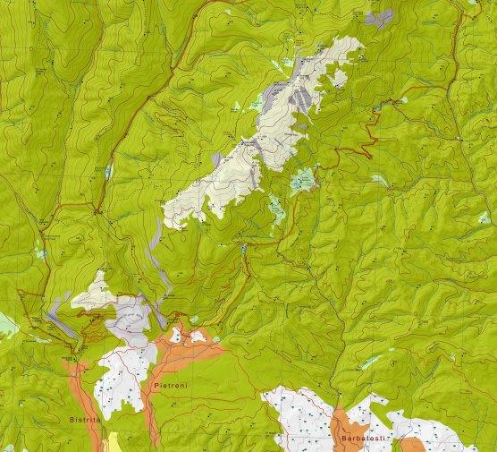 harta Buila-Vanturatita
