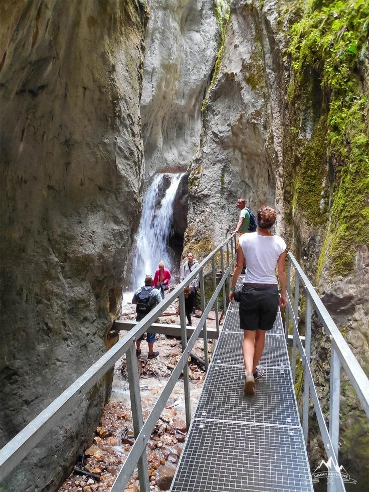 16 cascada Canionul Sapte Scari