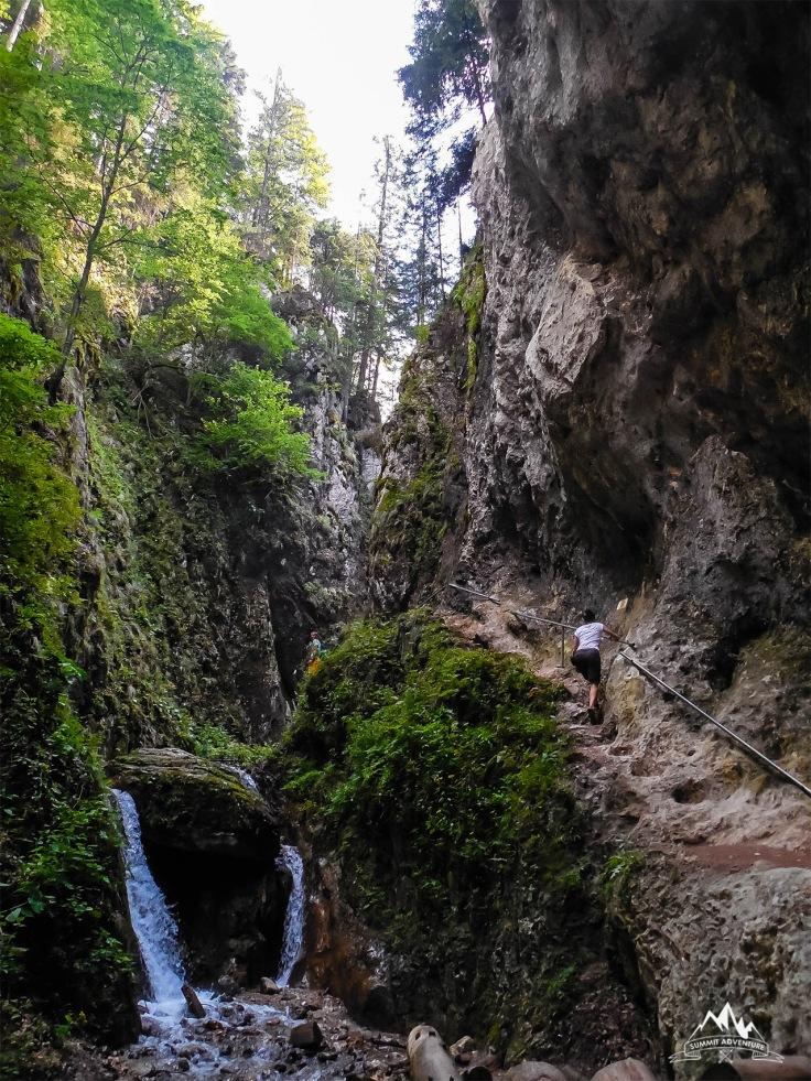 22 traseu Canionul Sapte Scari